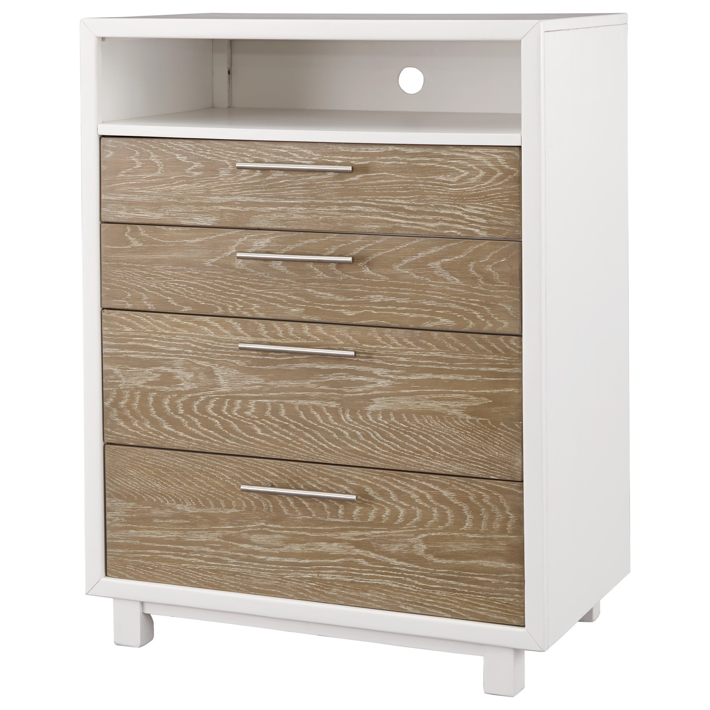 Signature Design by Ashley Gardomi 4 Drawer Chest - Item Number: B632-38