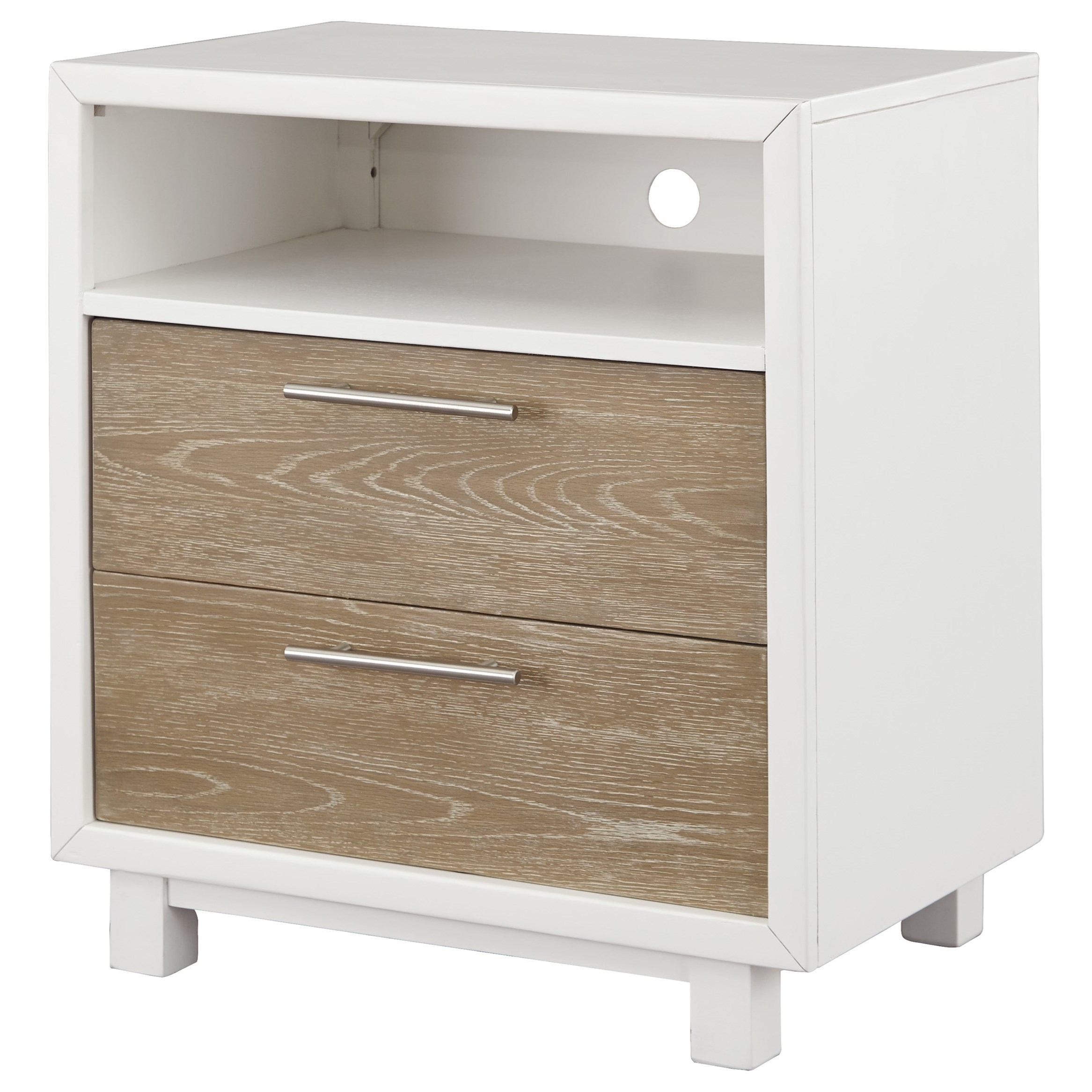 Signature Design by Ashley Gardomi 2 Drawer Night Stand - Item Number: B632-92