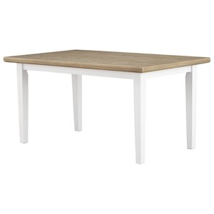 Signature Design by Ashley Gardomi Rectangular Dining Room Table