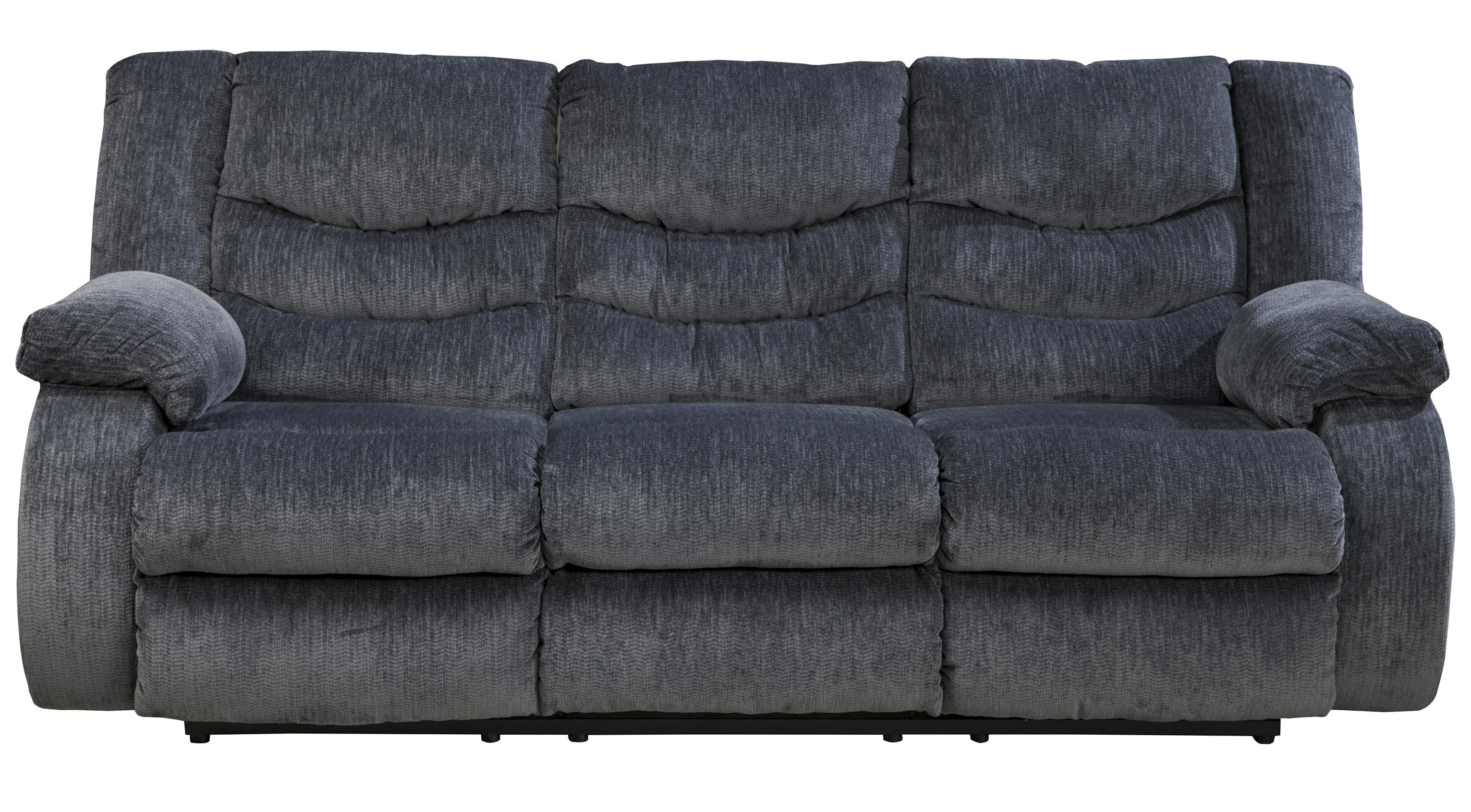 Signature Design by Ashley Garek - Blue Reclining Sofa - Item Number: 9200188