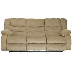 Signature Design by Ashley Garek - Sand Reclining Power Sofa