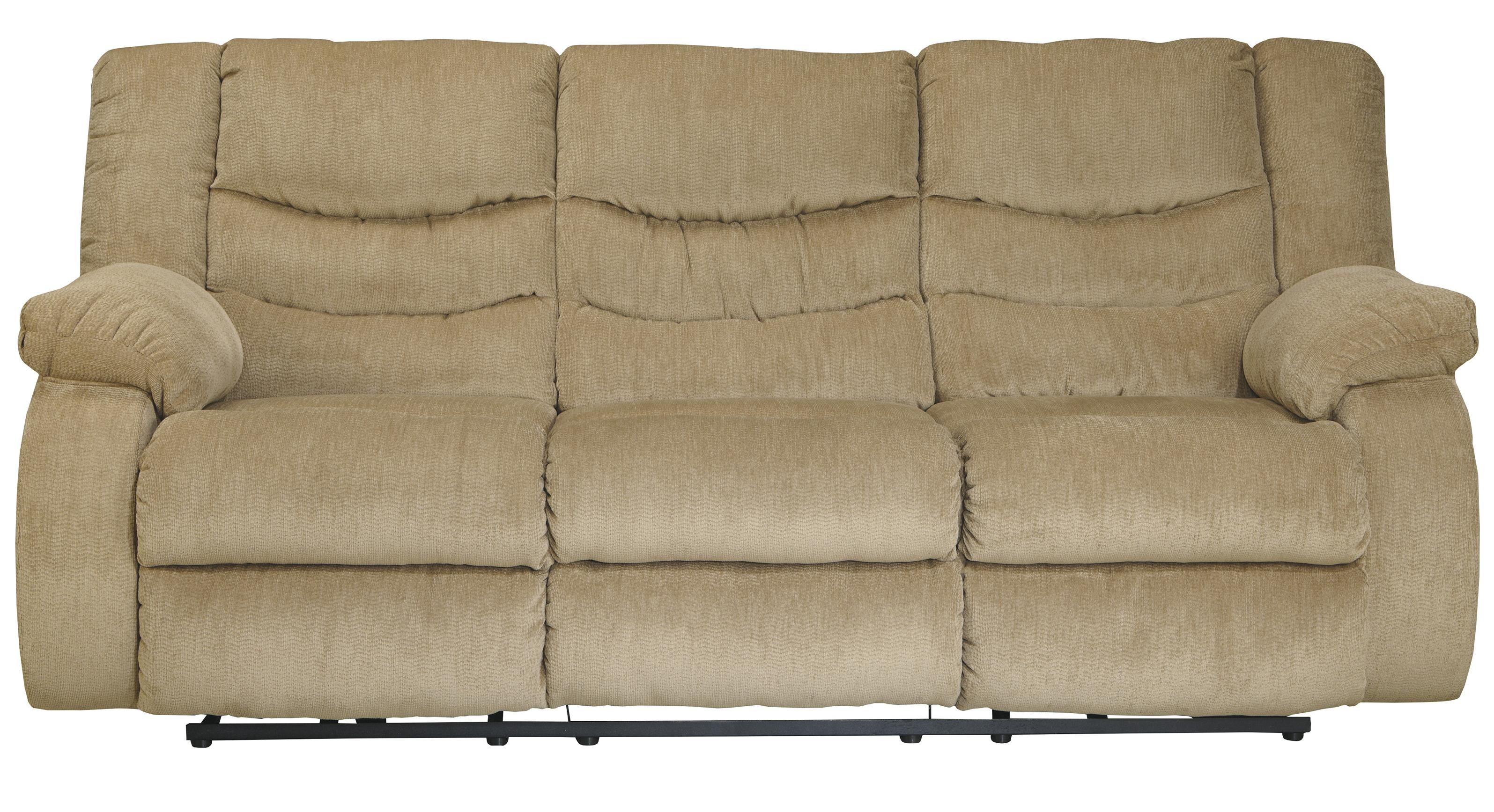 Signature Design by Ashley Garek - Sand Reclining Sofa - Item Number: 9200288