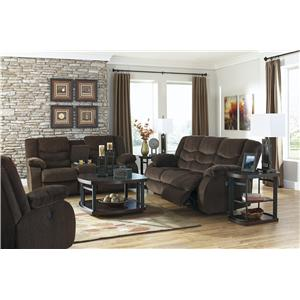 Signature Design by Ashley Garek - Cocoa Reclining Living Room Group