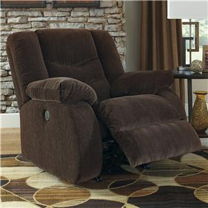 Signature Design by Ashley Garek - Cocoa Rocker Recliner