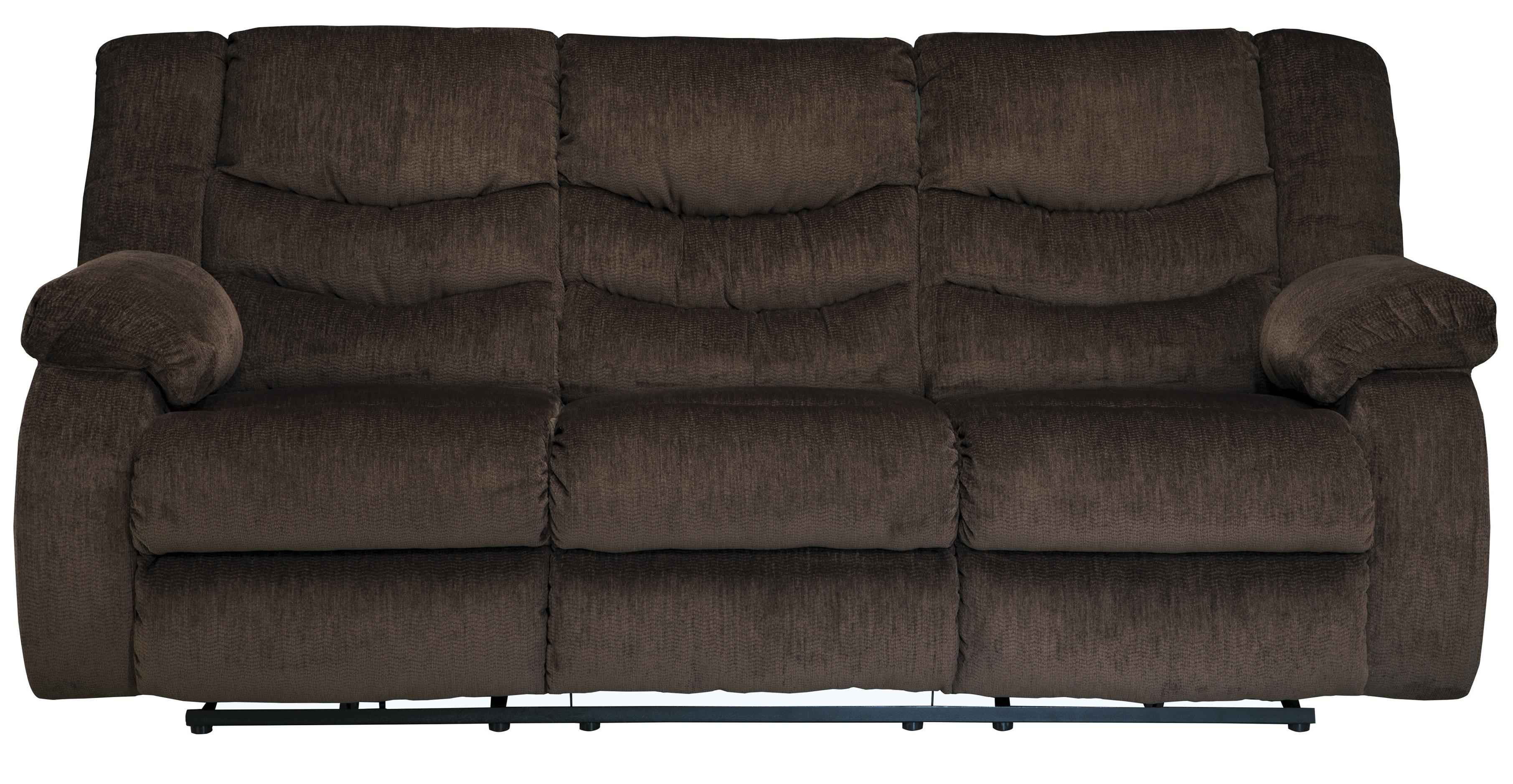 Signature Design by Ashley Garek - Cocoa Reclining Sofa - Item Number: 9200388