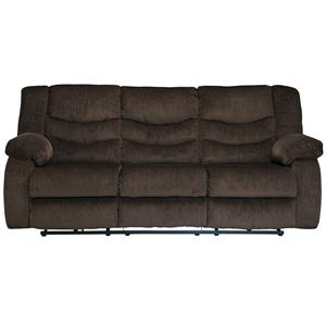 Signature Design by Ashley Garek - Cocoa Reclining Sofa