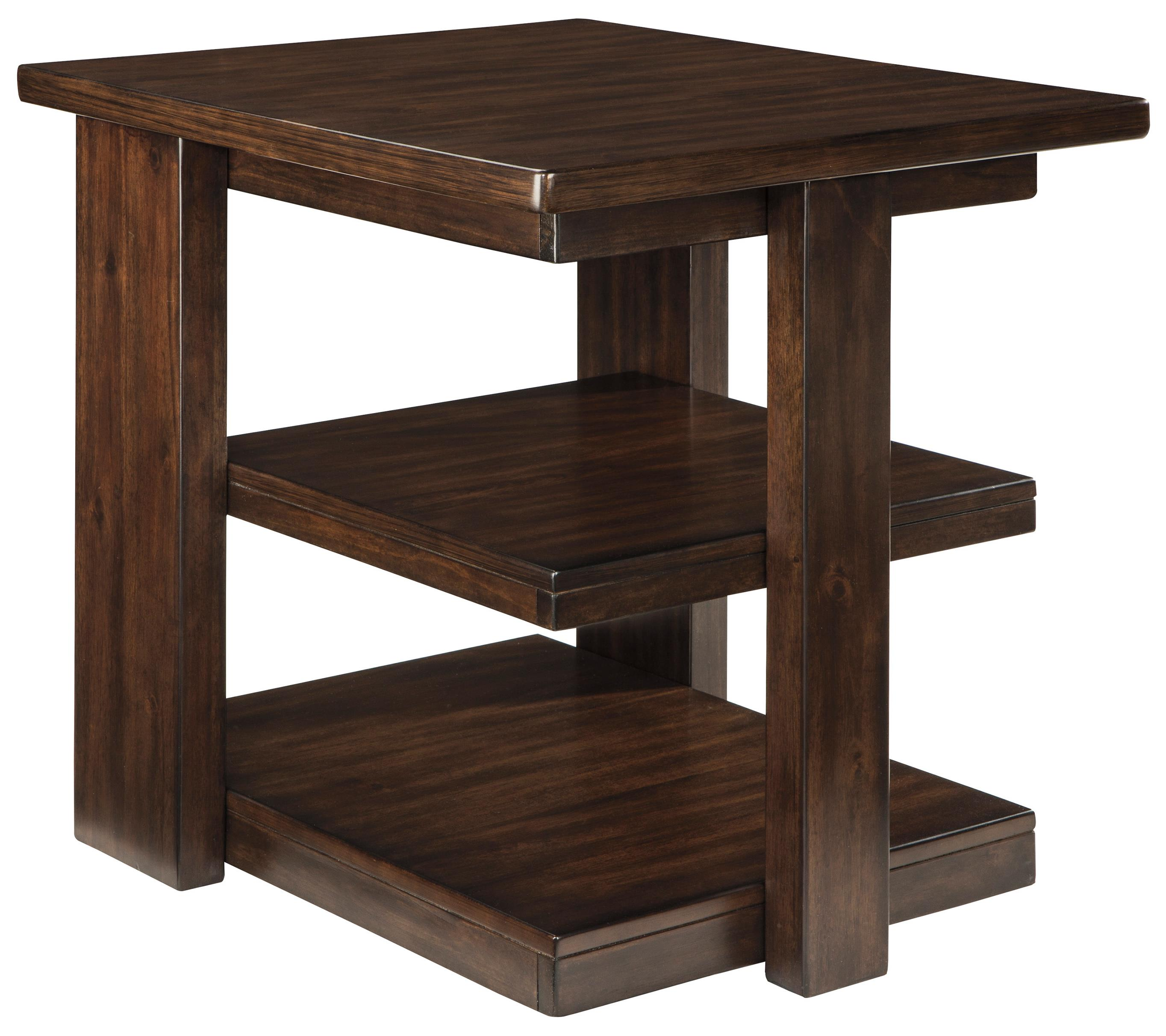 Signature Design by Ashley Garletti Rectangular End Table - Item Number: T787-3