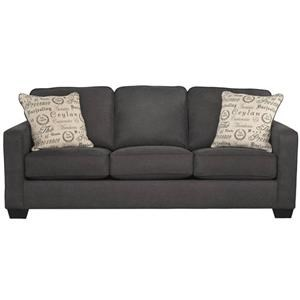 Garner Couch with Accent Pillows