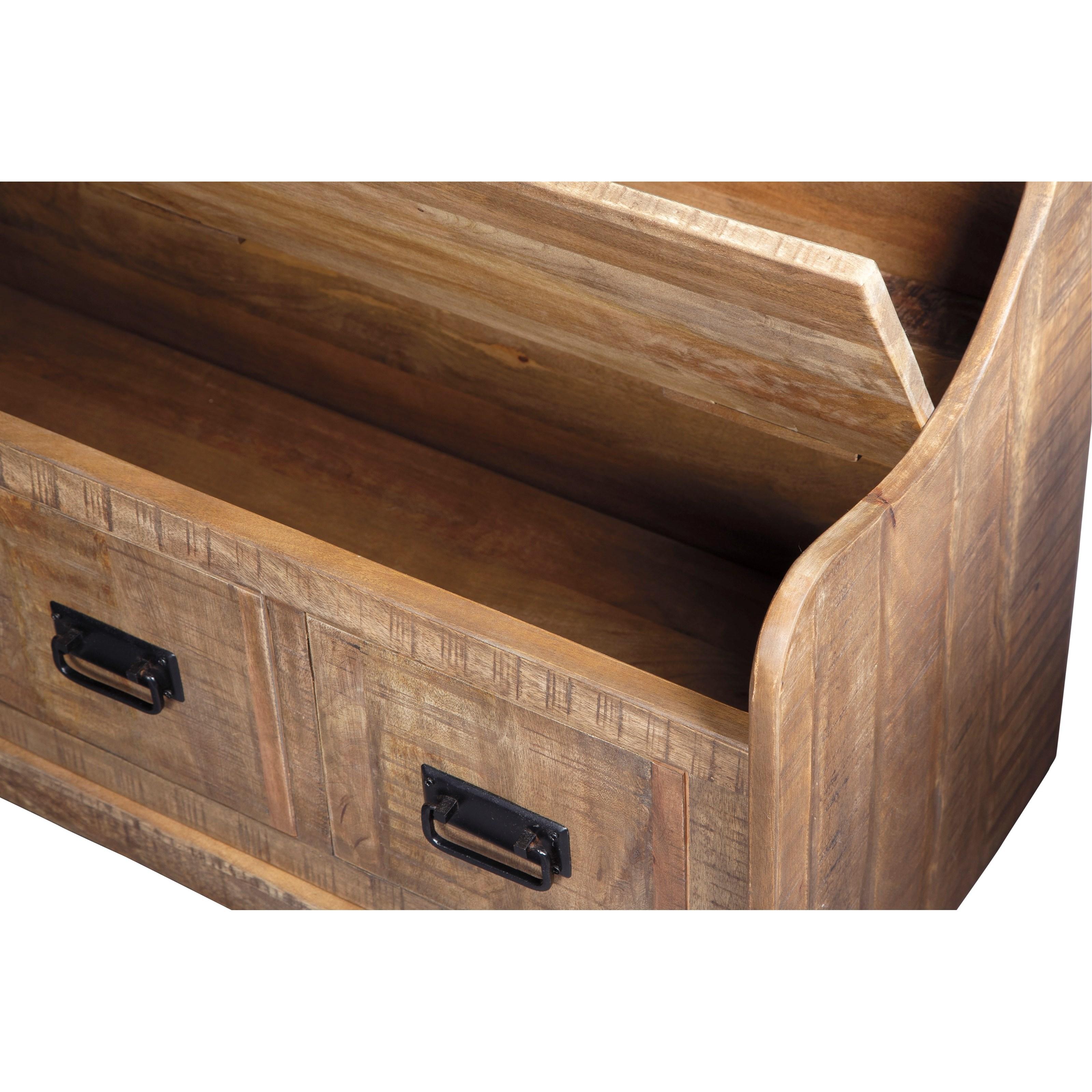 Ashley Signature Design Garrettville Solid Wood Farmhouse