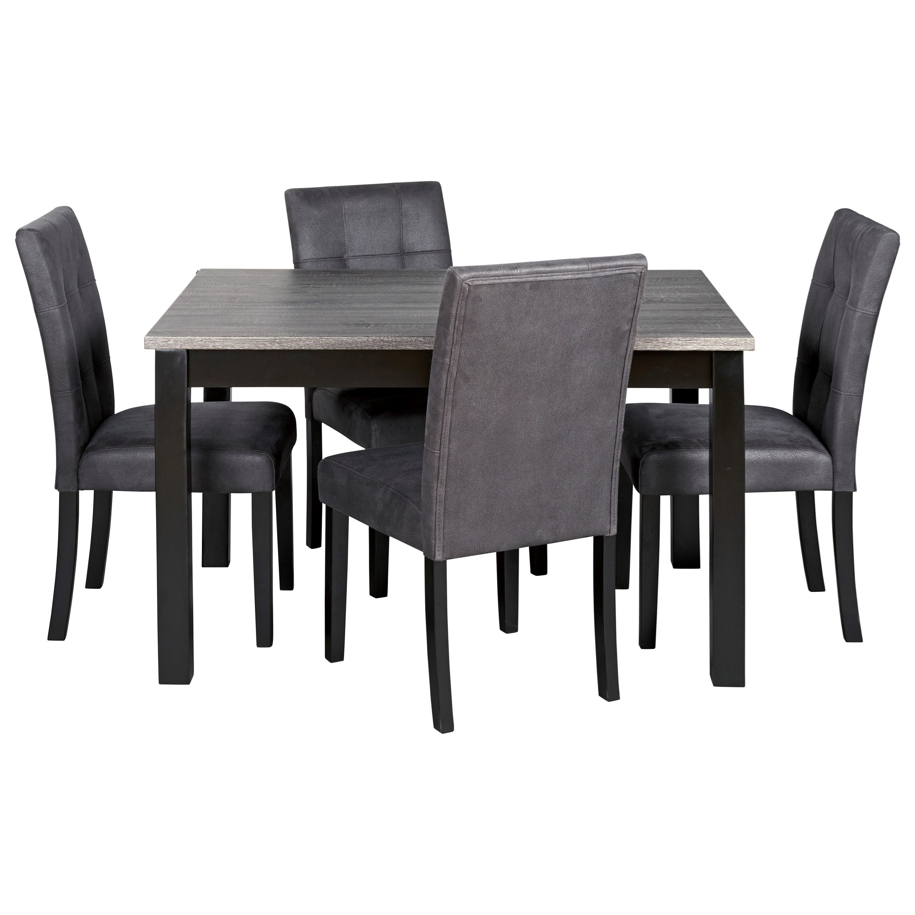 Garvine Rectangle Dining Room Table Set by Ashley (Signature Design) at Johnny Janosik