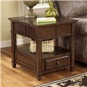 Signature Design by Ashley Gately End Table - Item Number: T845-3