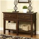 Signature Design by Ashley Gately Sofa Console Table - Item Number: T845-4