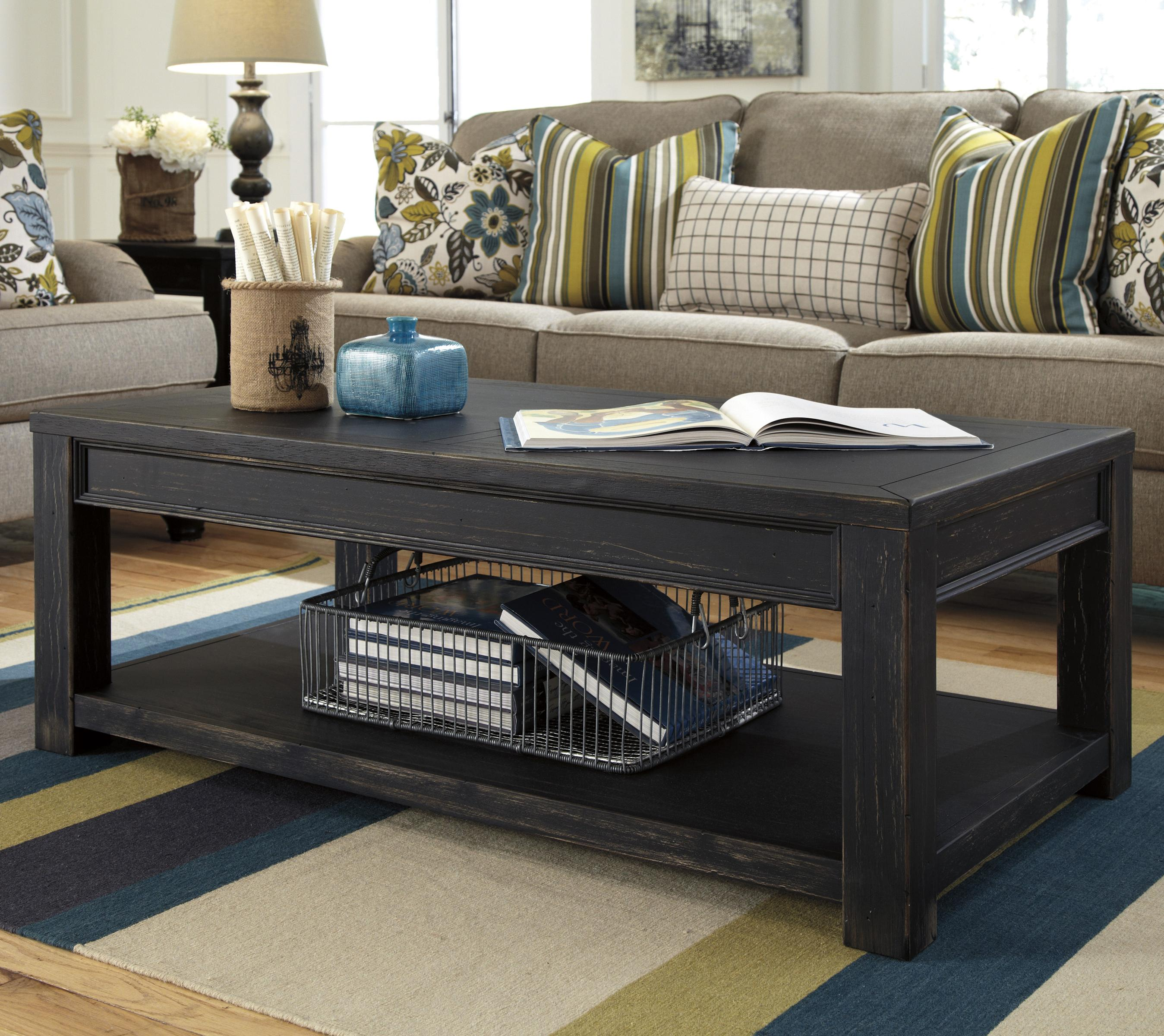 Ashley Furniture Distressed Coffee Table