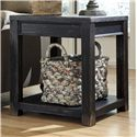 Signature Design by Ashley Gavelston Square End Table - Item Number: T732-2