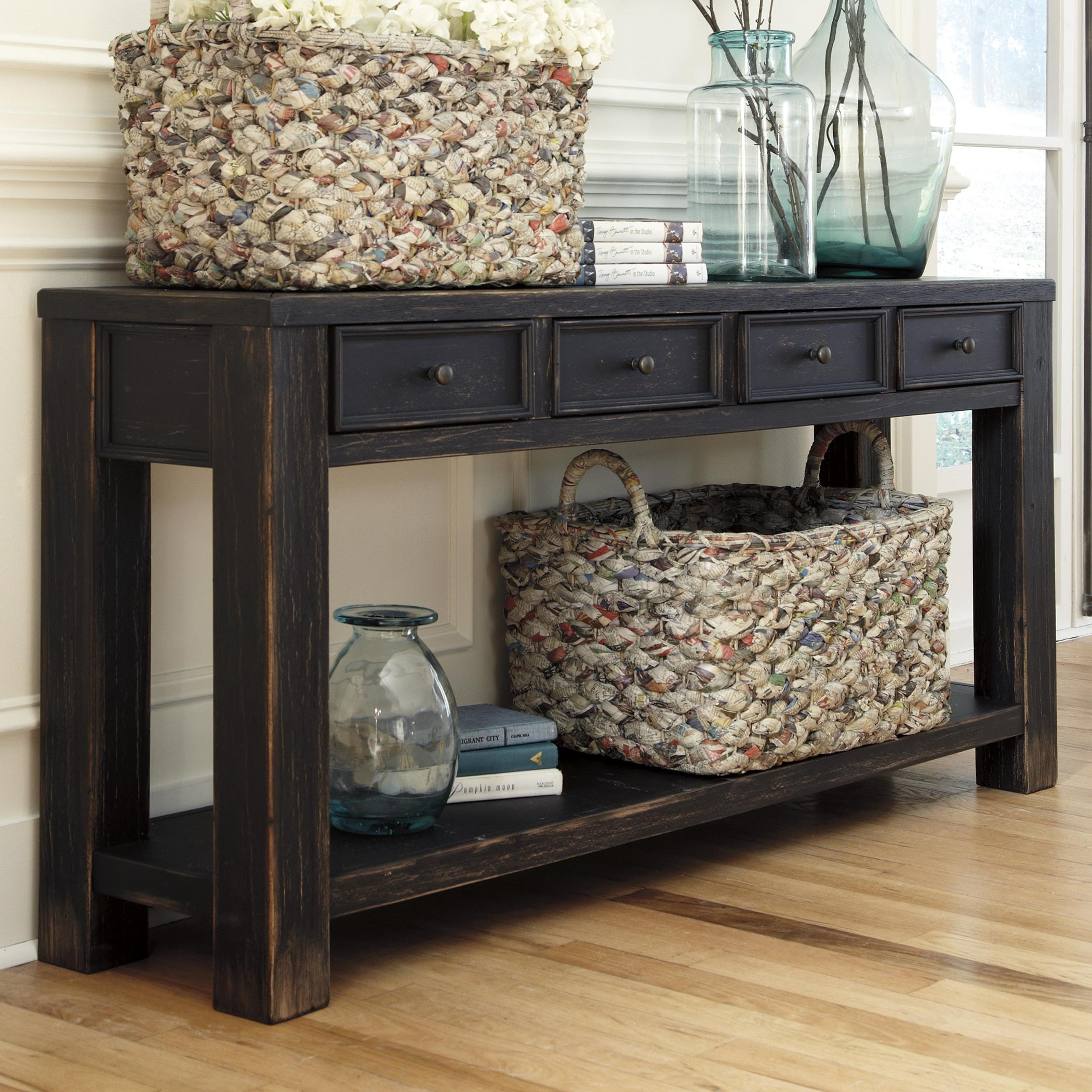 signature design by ashley baker sofa table item number t7324