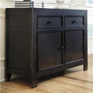 Signature Design by Ashley Gavelston Accent Cabinet