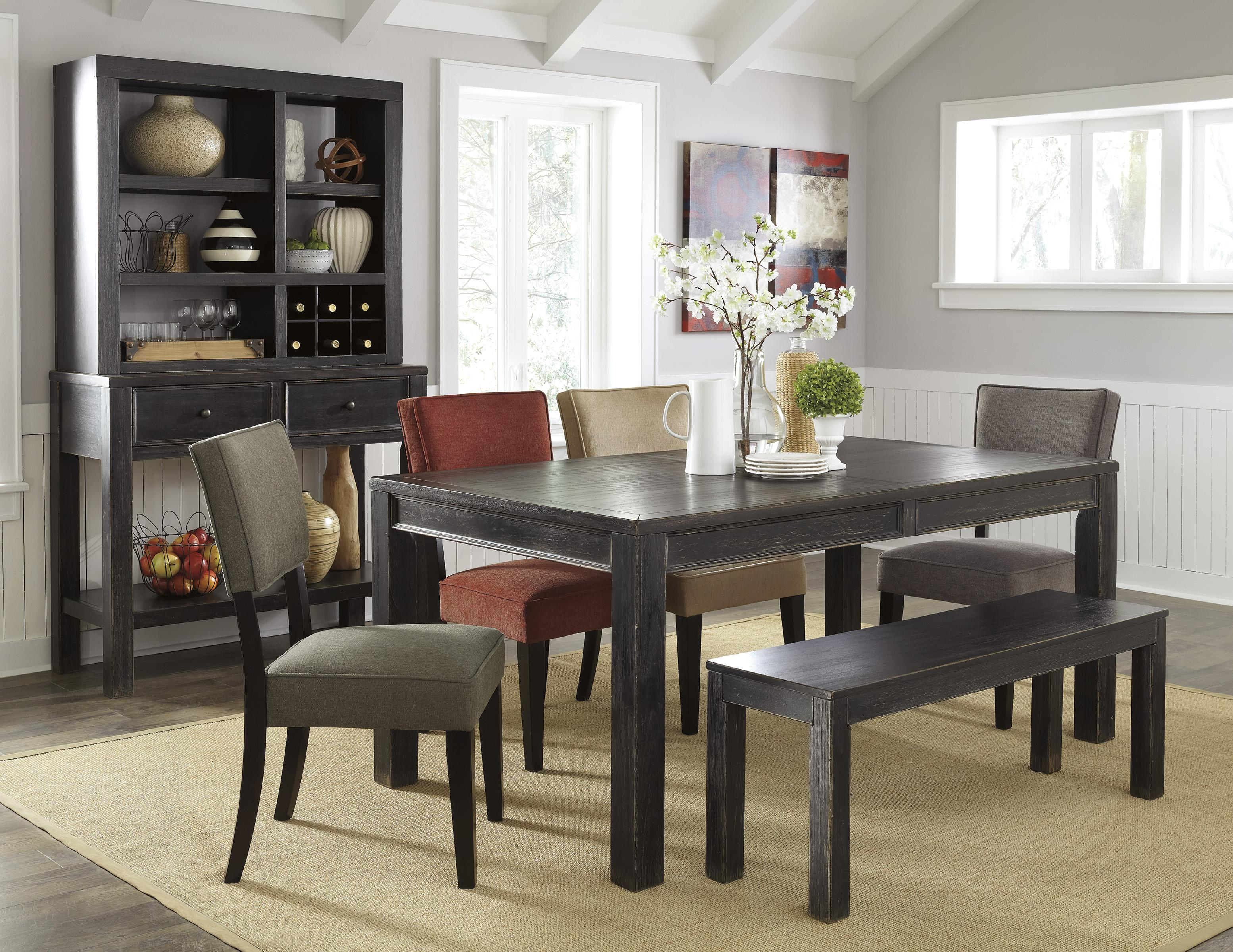 Signature Design by Ashley Gavelston Casual Dining Room Group - Item Number: D532 Dining Room Group 10