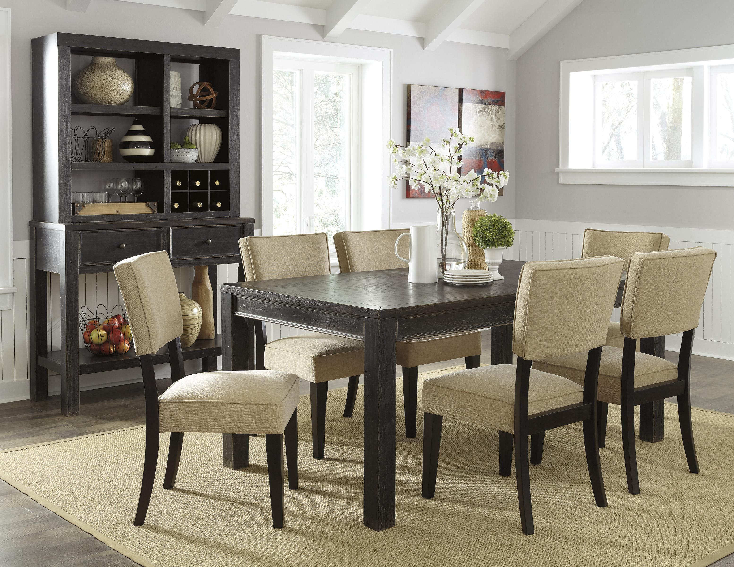 Signature Design by Ashley Gavelston Casual Dining Room Group - Item Number: D532 Dining Room Group 11