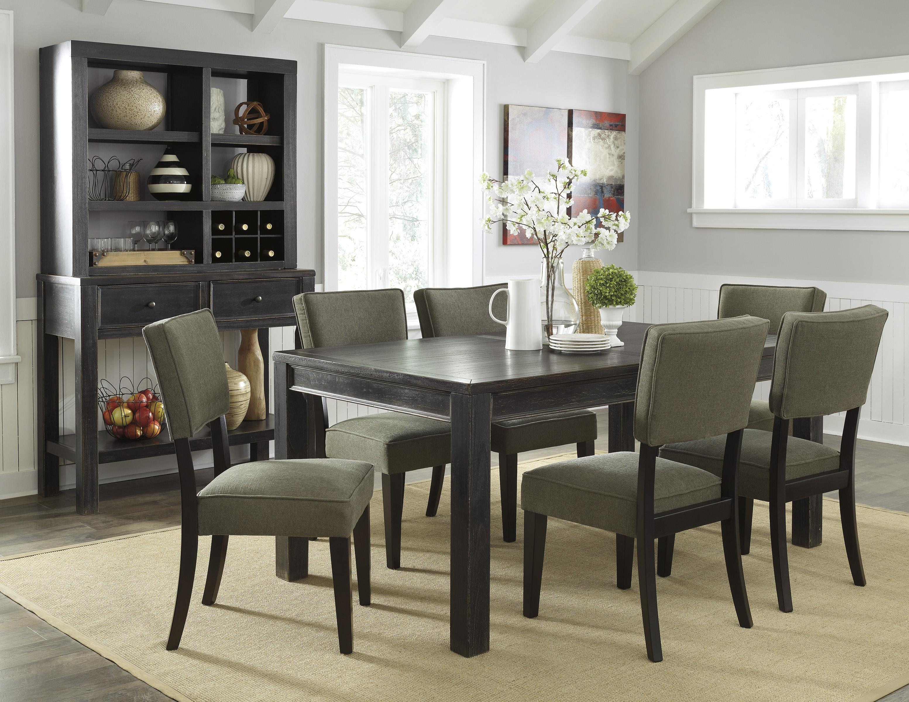 Signature Design by Ashley Gavelston Casual Dining Room Group - Item Number: D532 Dining Room Group 12
