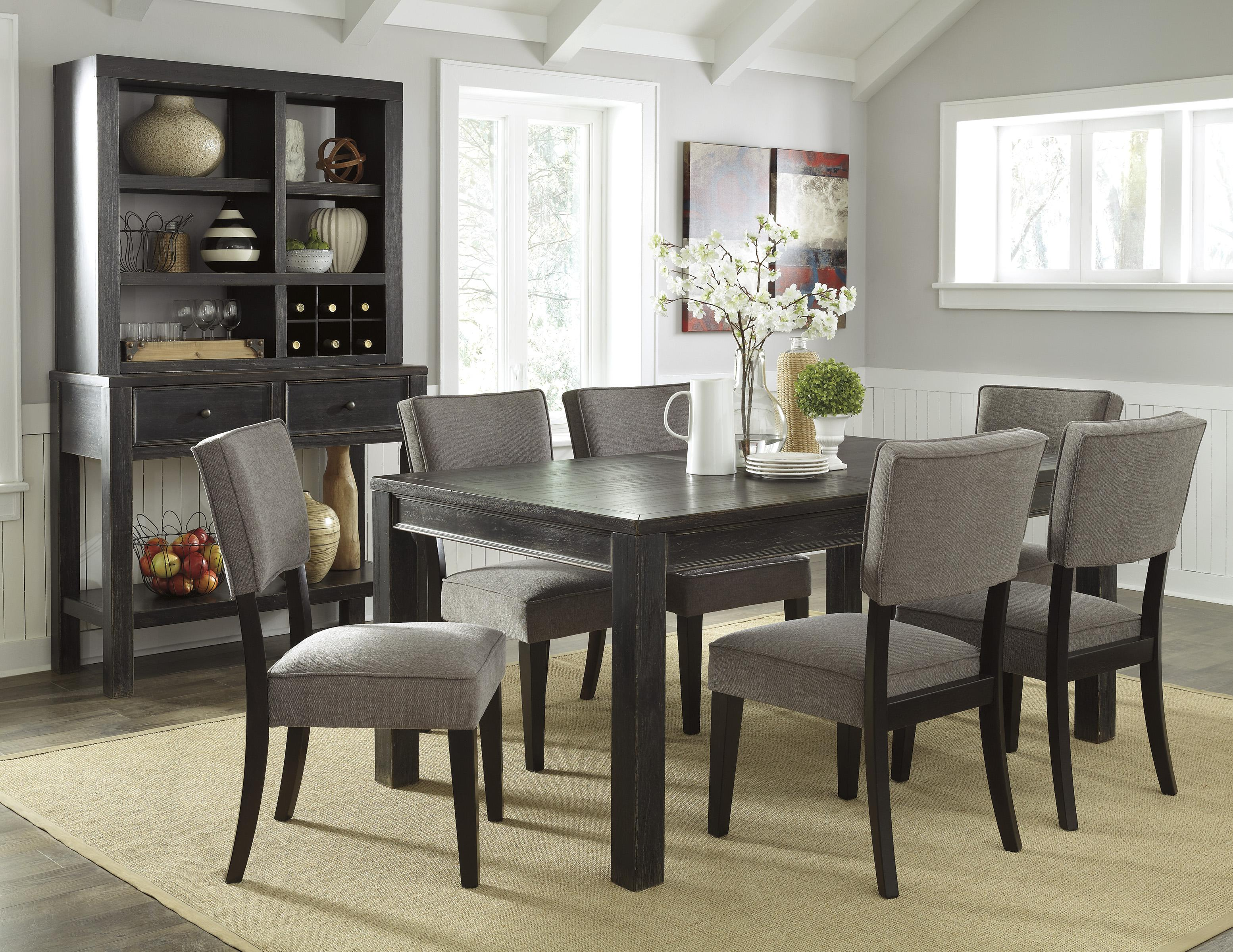 Signature Design by Ashley Gavelston Casual Dining Room Group - Item Number: D532 Dining Room Group 13