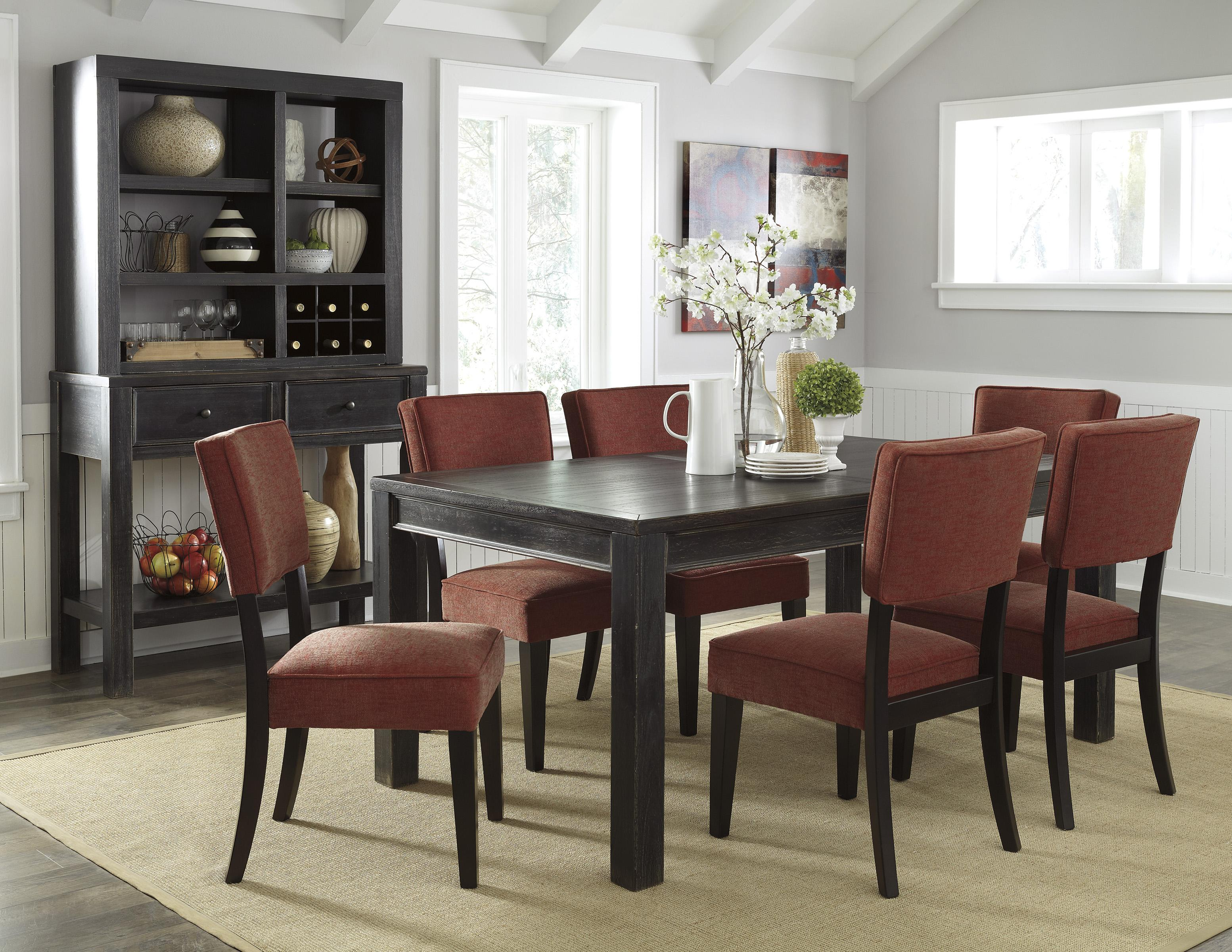 Signature Design by Ashley Gavelston Casual Dining Room Group - Item Number: D532 Dining Room Group 14