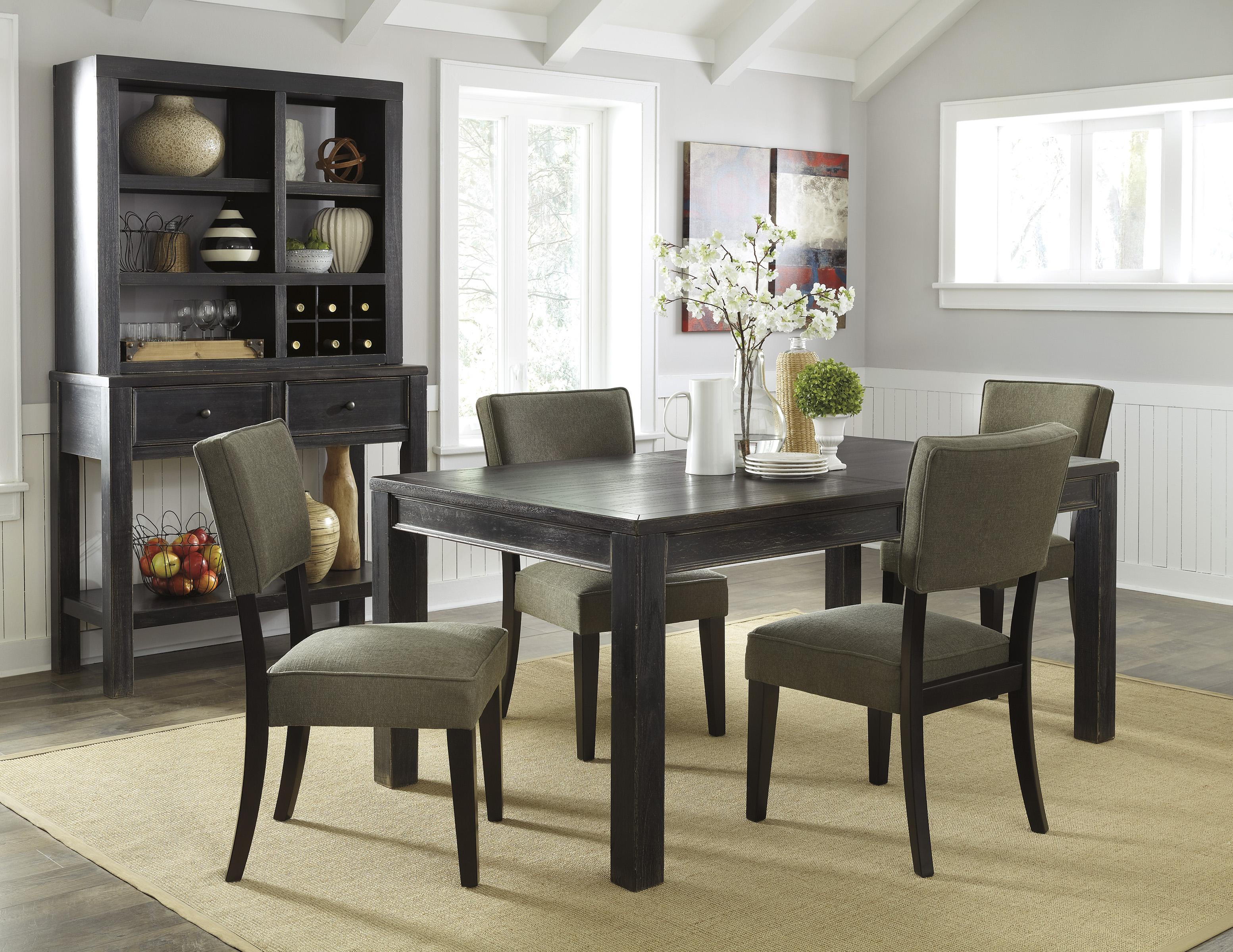 Signature Design by Ashley Gavelston Casual Dining Room Group - Item Number: D532 Dining Room Group 2