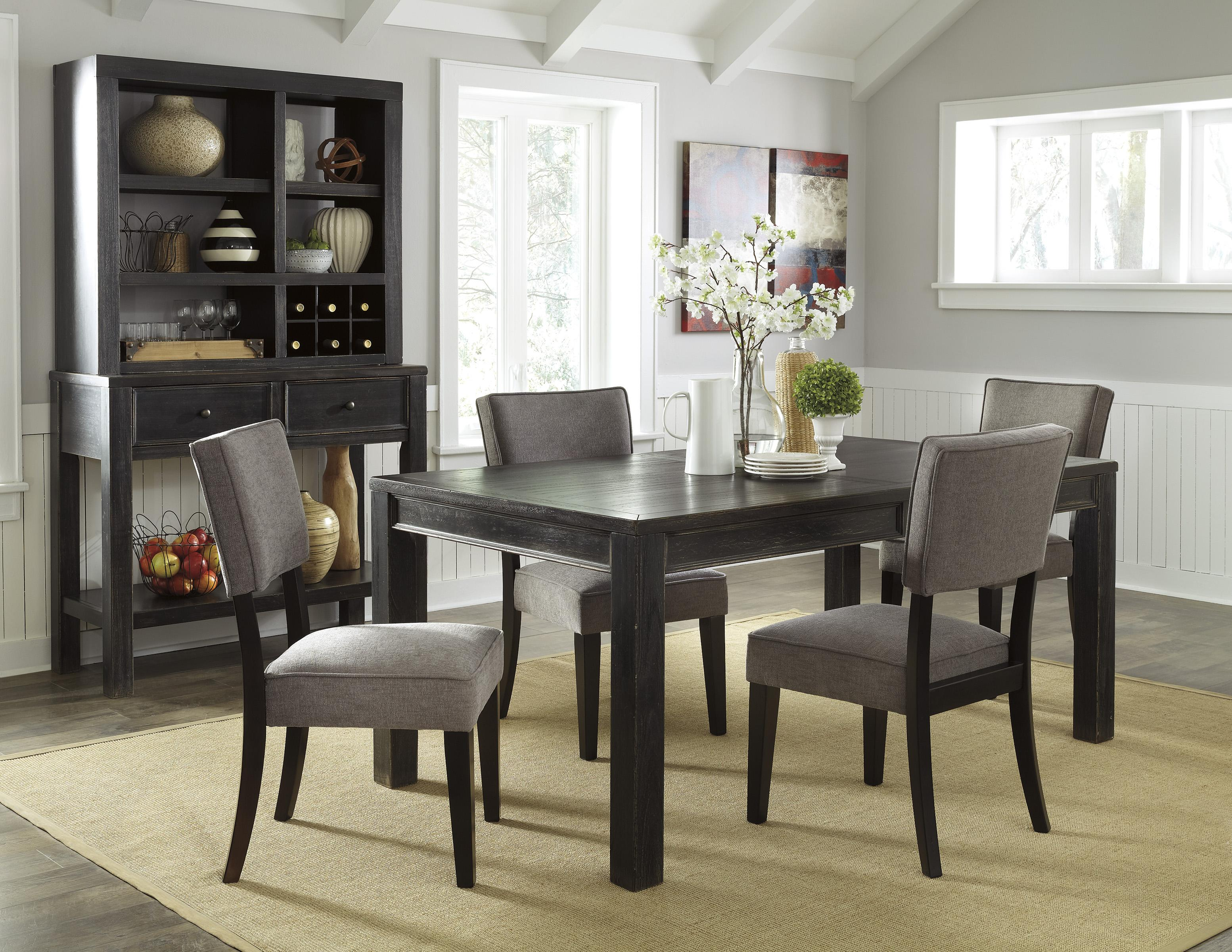 Signature Design by Ashley Gavelston Casual Dining Room Group - Item Number: D532 Dining Room Group 3