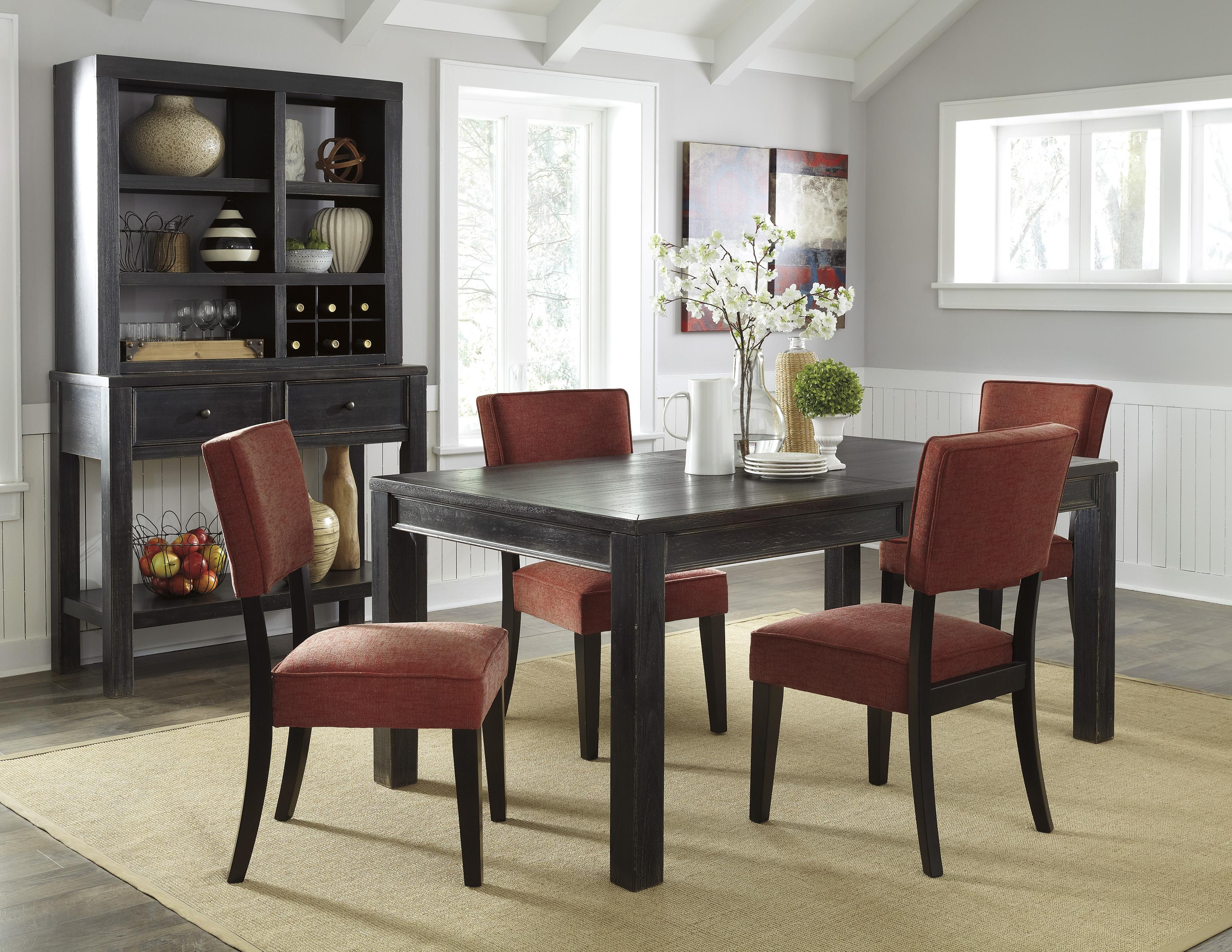 Signature Design by Ashley Gavelston Casual Dining Room Group - Item Number: D532 Dining Room Group 4