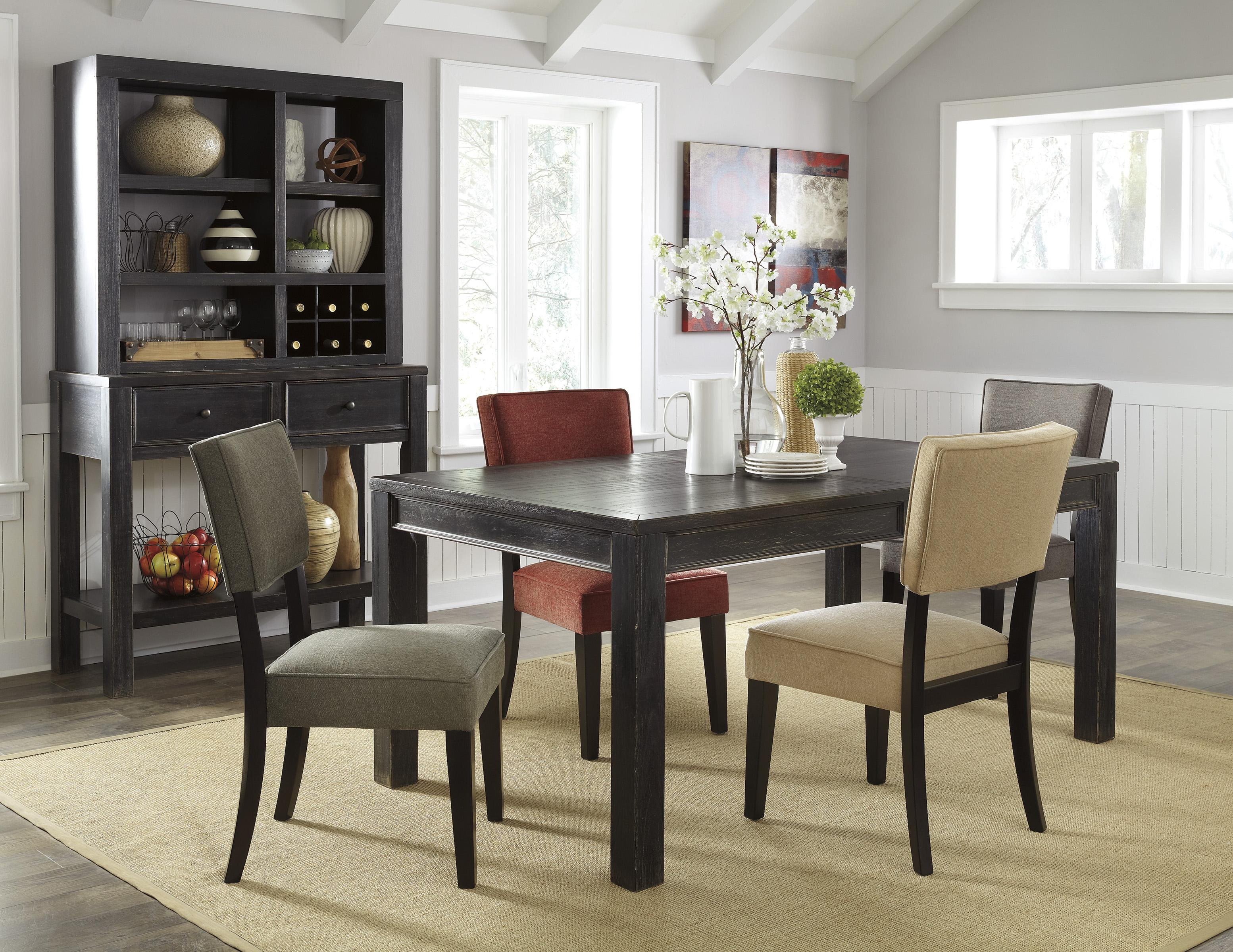 Signature Design by Ashley Gavelston Casual Dining Room Group - Item Number: D532 Dining Room Group 5