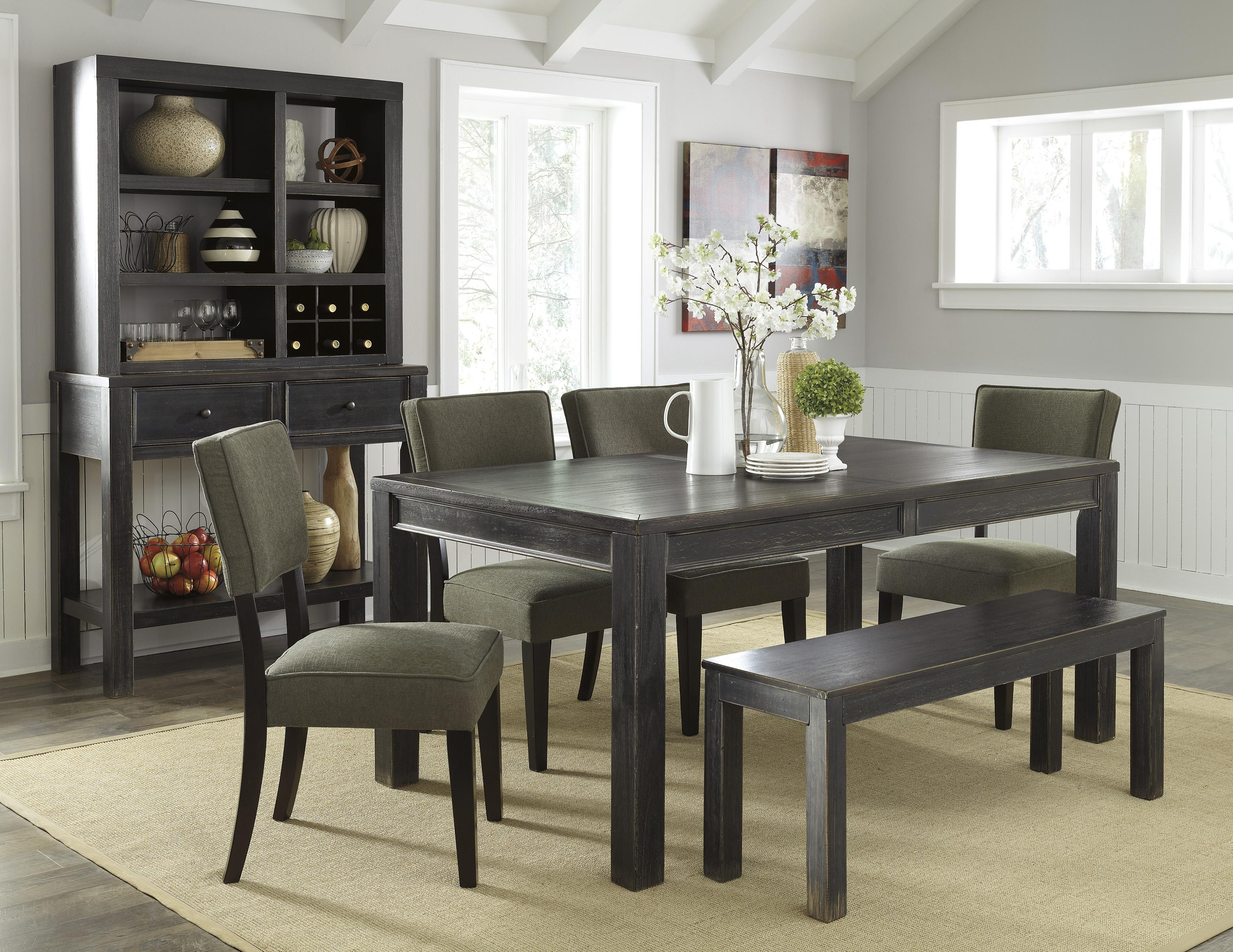 Signature Design by Ashley Gavelston Casual Dining Room Group - Item Number: D532 Dining Room Group 7