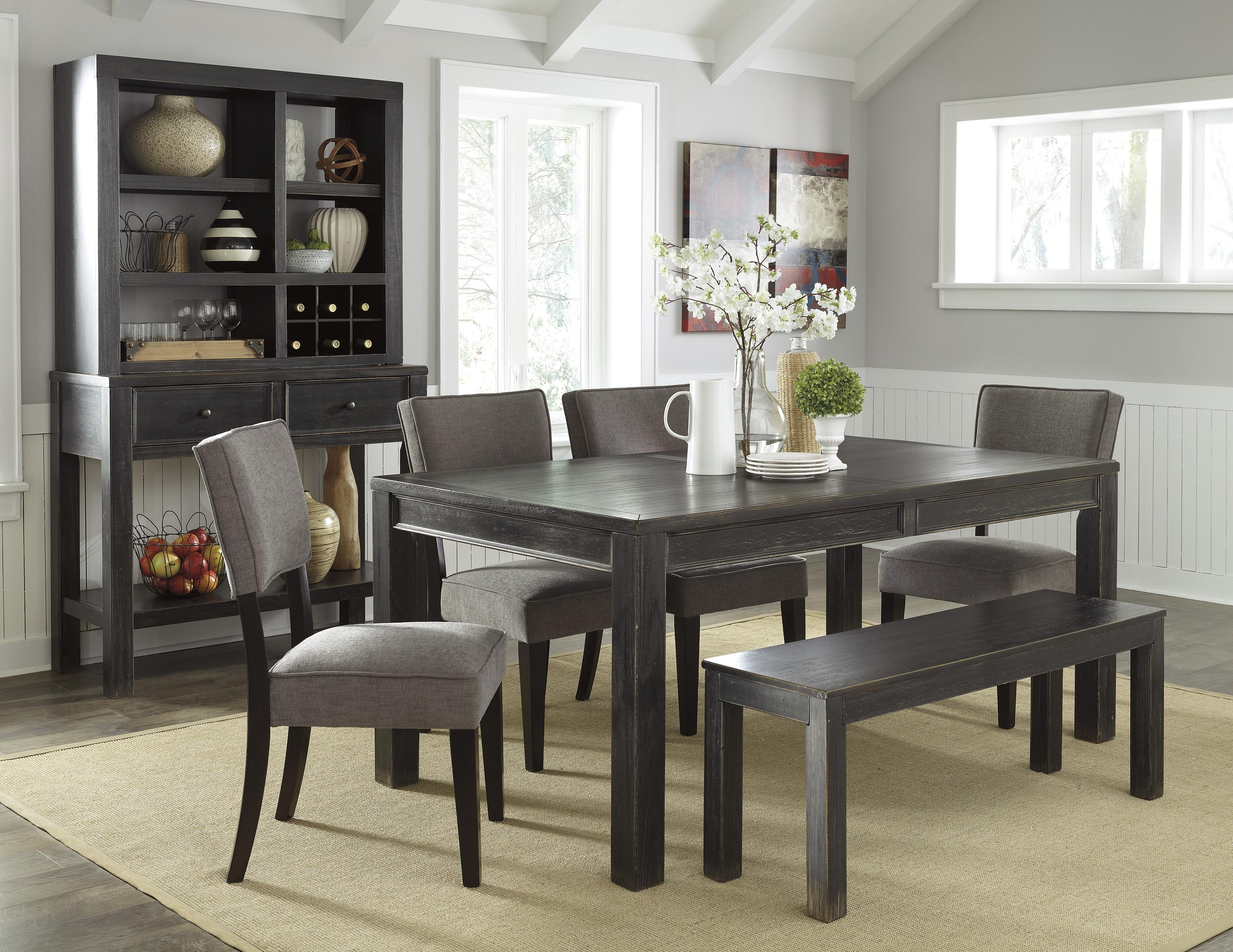 Signature Design by Ashley Gavelston Casual Dining Room Group - Item Number: D532 Dining Room Group 8