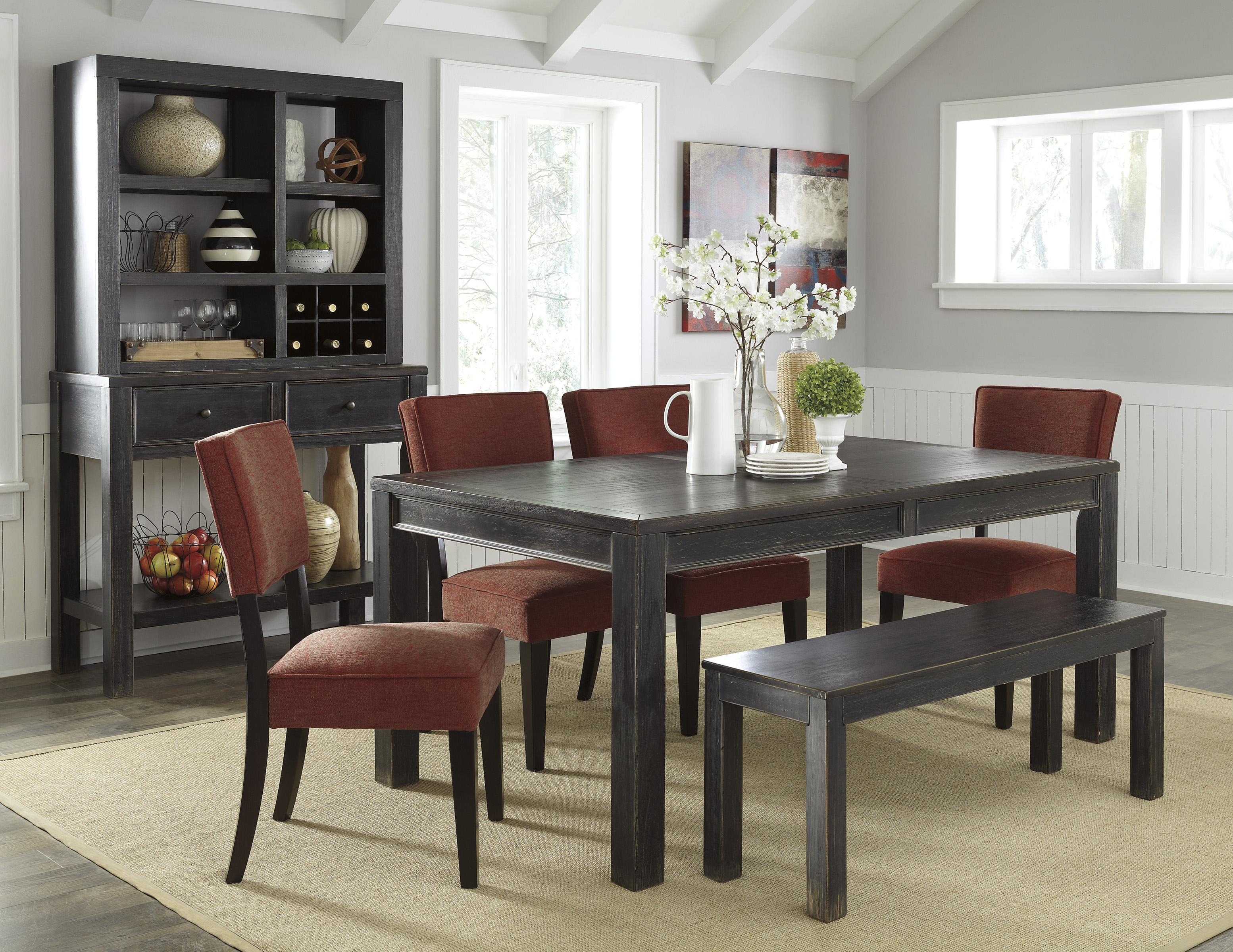 Signature Design by Ashley Gavelston Casual Dining Room Group - Item Number: D532 Dining Room Group 9