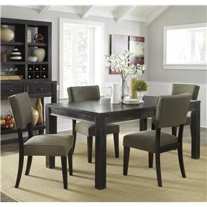 Signature Design by Ashley Gavelston 5-Piece Rectangular Table Dining Set
