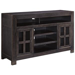 Signature Design by Ashley Gavelston Large TV Stand