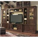 Signature Design by Ashley Gaylon Wide and Narrow Pier Entertainment Center - Item Number: W704-22+23+24+2x21+25