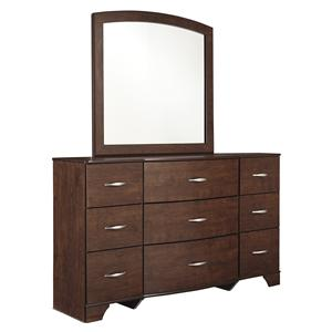 Signature Design by Ashley Gennaguire Dresser & Bedroom Mirror