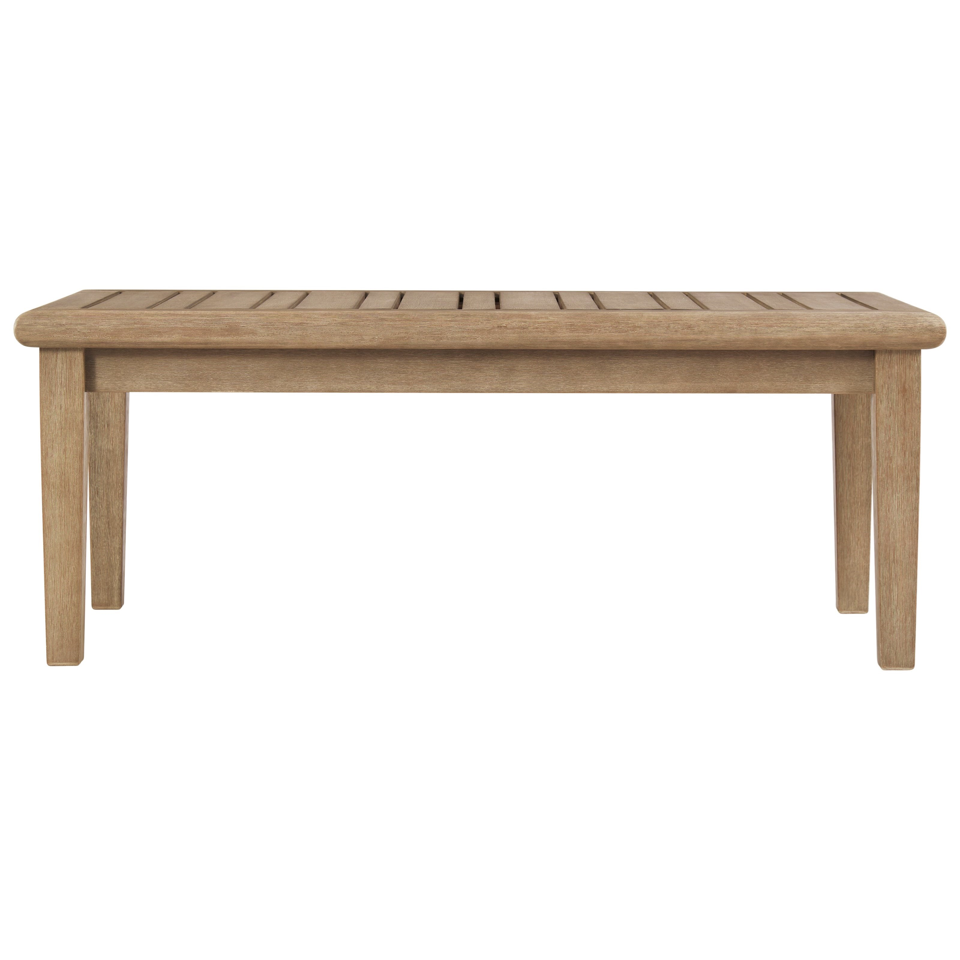 Gerianne Rectangular Cocktail Table by Signature at Walker's Furniture