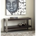 Signature Design by Ashley Geriville Industrial Sofa Console Table