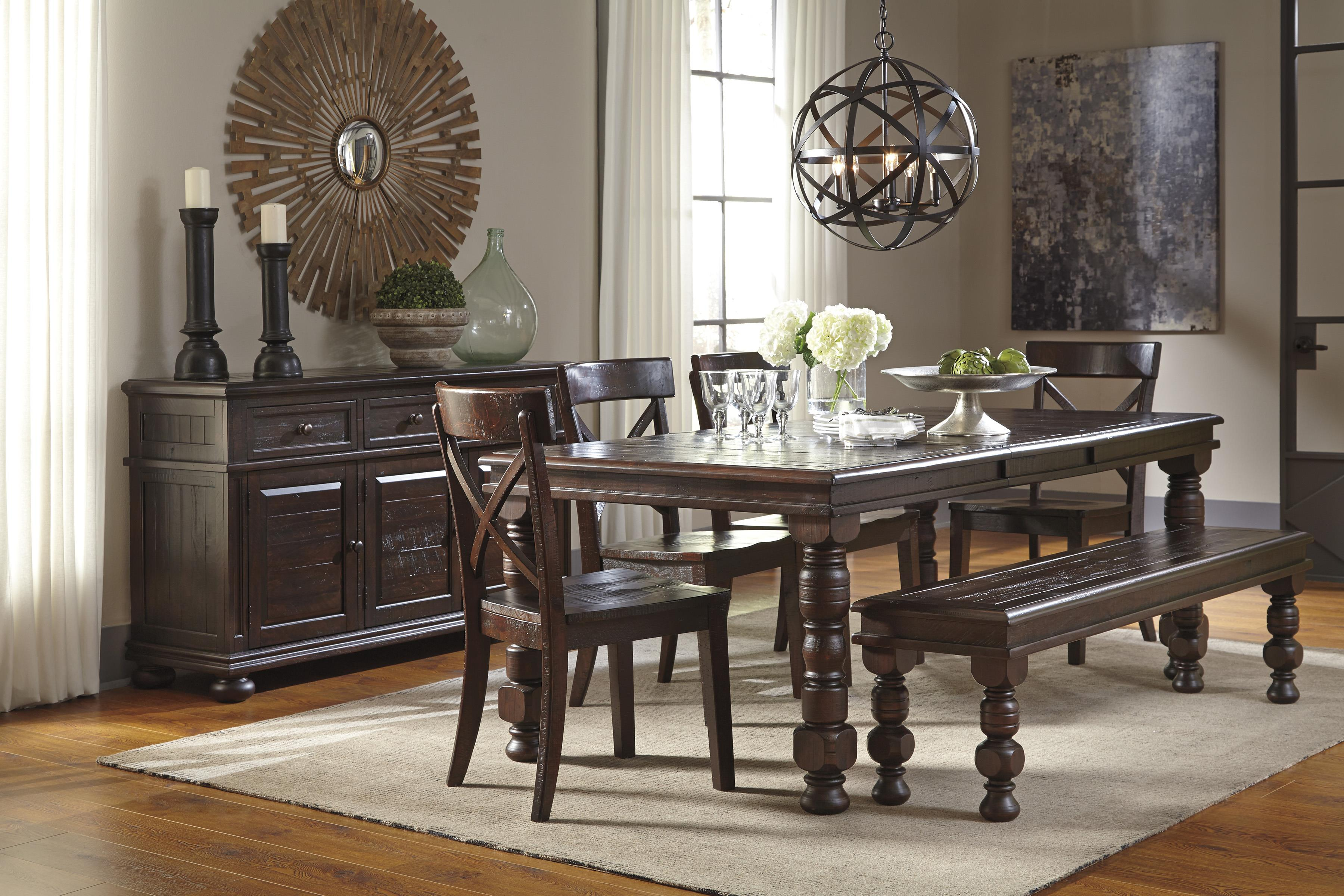 Signature Design by Ashley Gerlane Casual Dining Room Group - Item Number: D657 Dining Room Group 2