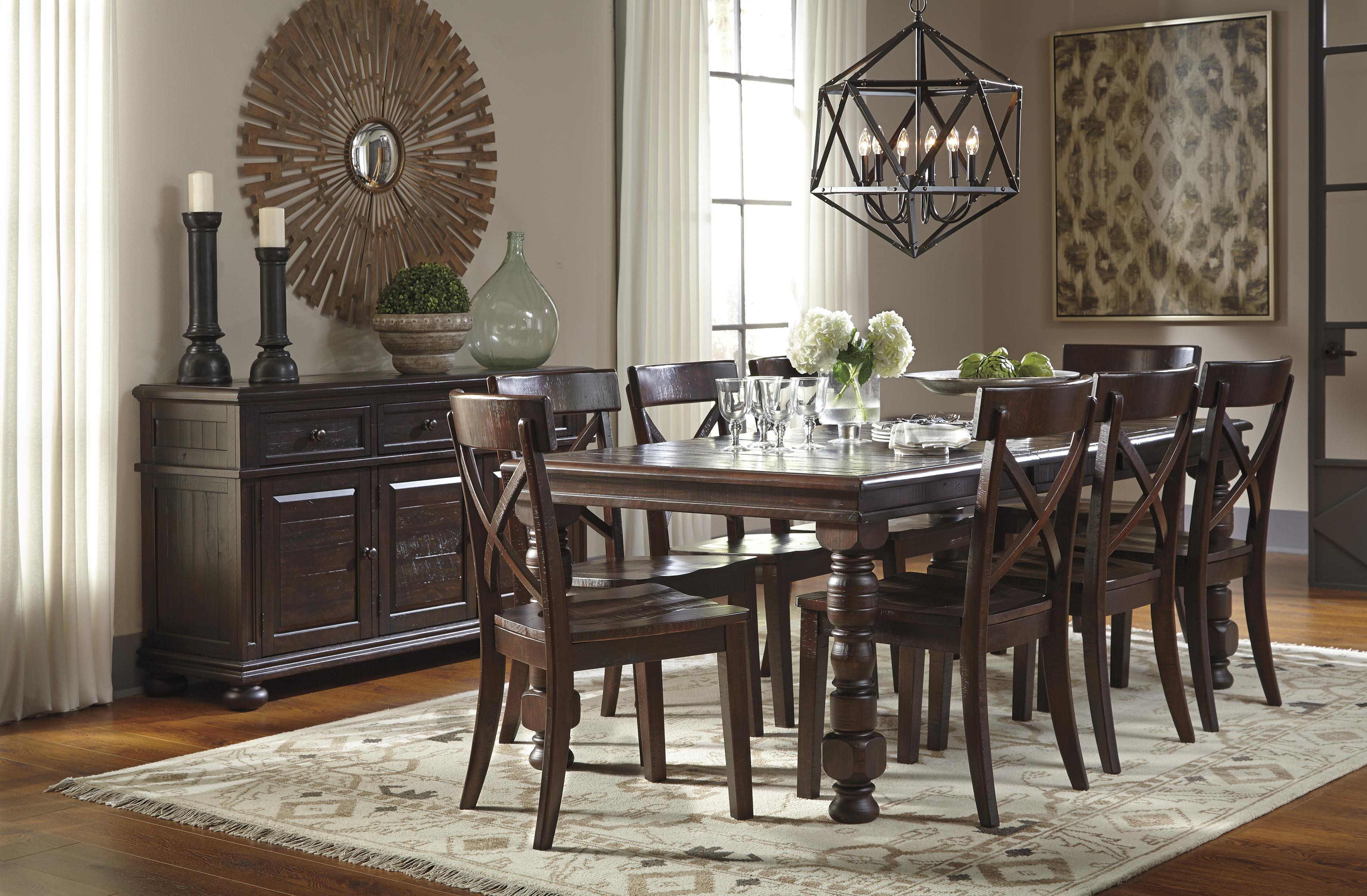 Signature Design by Ashley Gerlane Casual Dining Room Group - Item Number: D657 Dining Room Group 3