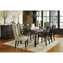 Signature Design by Ashley Gerlane Casual Dining Room Group - Item Number: D657 Dining Room Group 4
