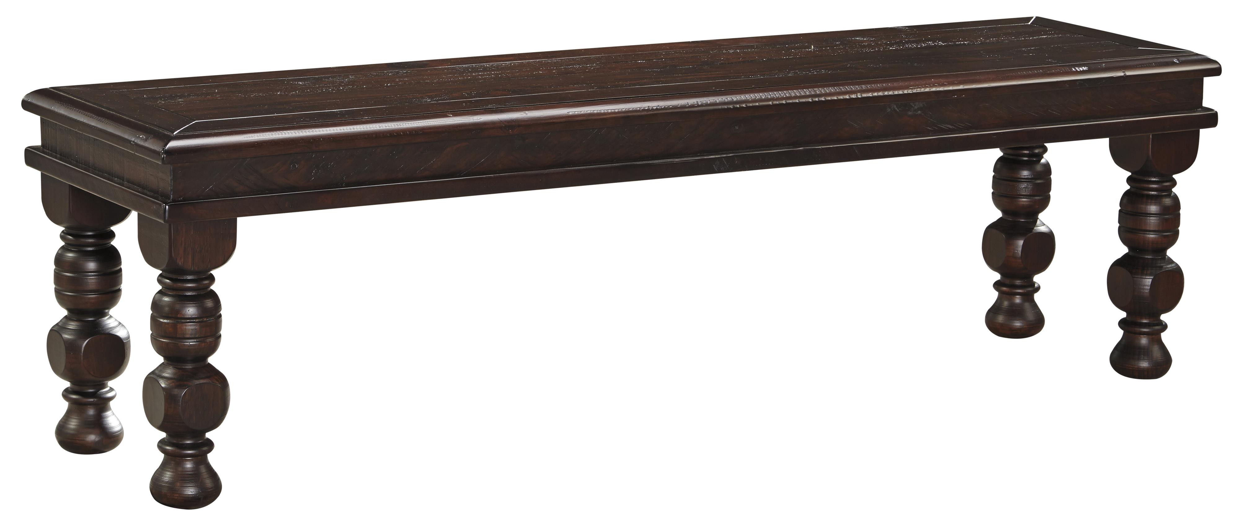 Signature Design by Ashley Gerlane Large Dining Room Bench - Item Number: D657-00