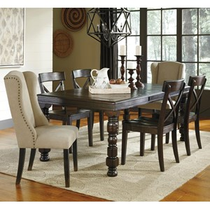 Signature Design by Ashley Gerlane 7-Piece Dining Table Set