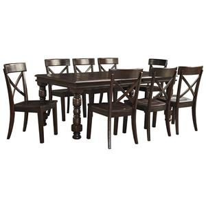 Signature Design by Ashley Gerlane 9-Piece Dining Table Set