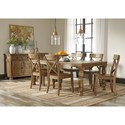 Signature Design by Ashley Trishley Casual Dining Room Group - Item Number: D659 Dining Room Group 1