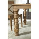 Signature Design by Ashley Trishley 7-Piece Solid Pine Dining Table Set