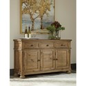 Signature Design by Ashley Trishley Solid Pine Dining Room Server