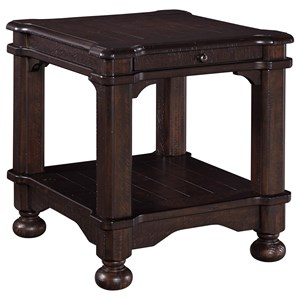 Signature Design by Ashley Gerlane Rectangular End Table