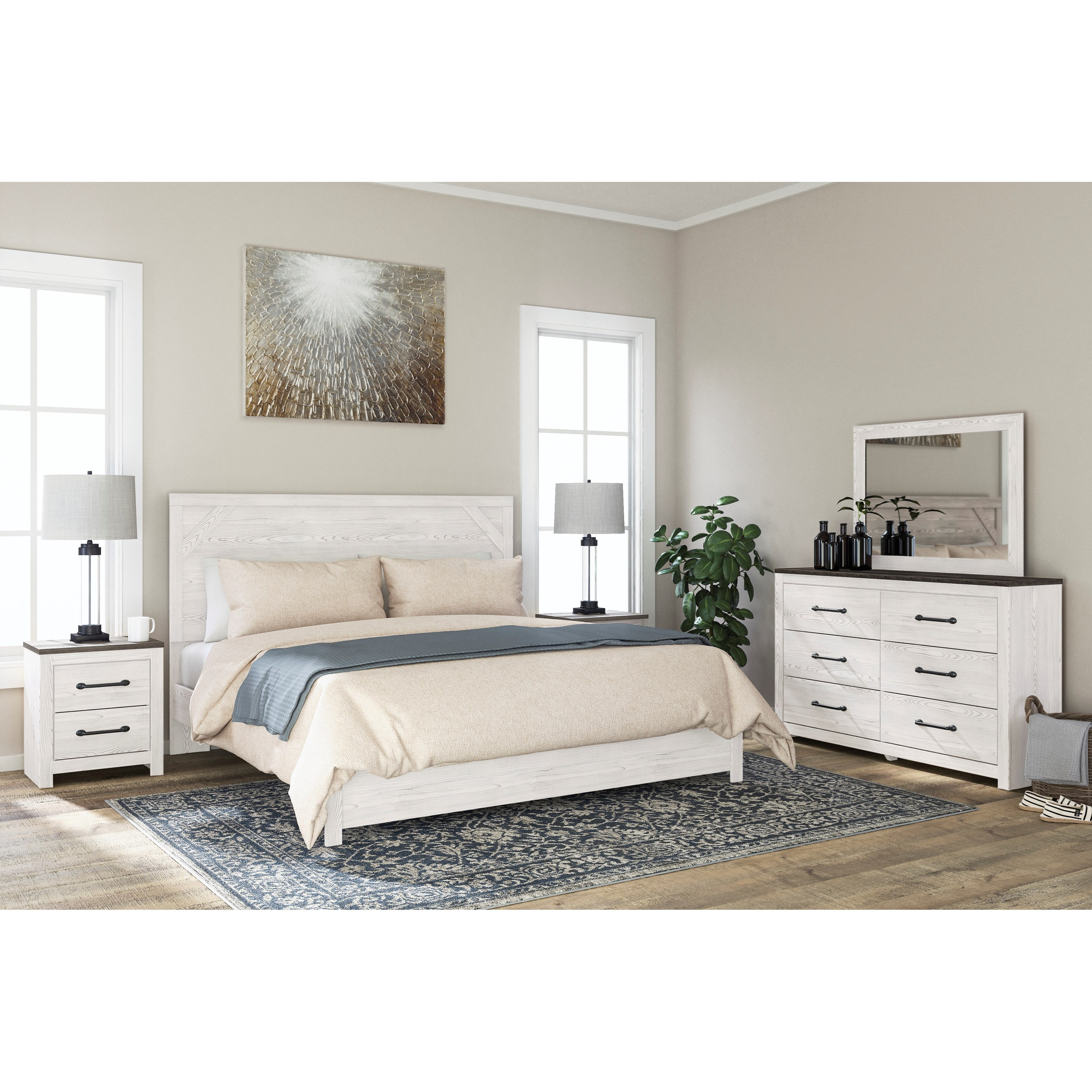 Gerridan King Bedroom Group by Ashley (Signature Design) at Johnny Janosik