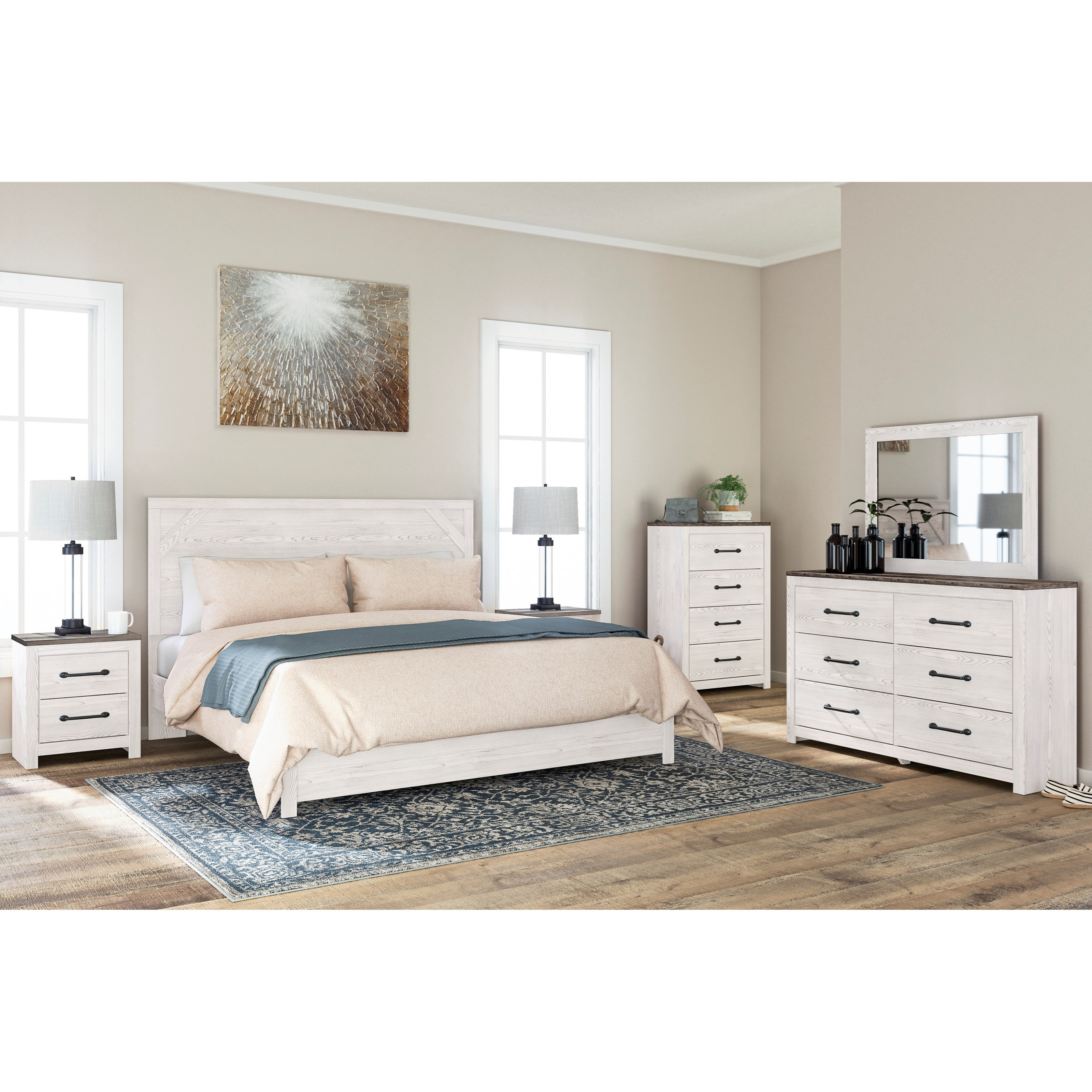 Gerridan King Bedroom Group by Signature Design by Ashley at Northeast Factory Direct